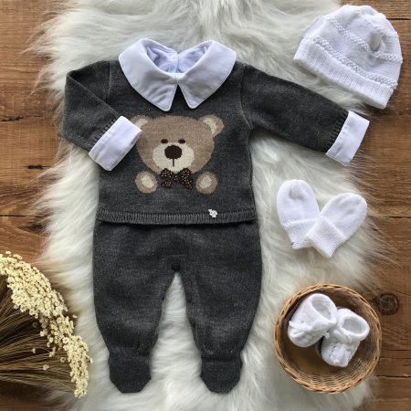 Macacão Bebe Urso Premium