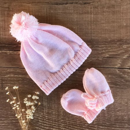 Touca e Luva para Bebe