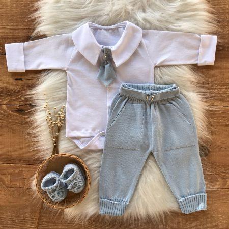 Conjunto Bebê Body e Calça