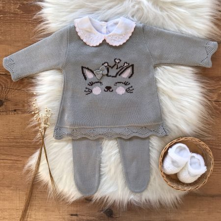Vestido e Calça Bebe