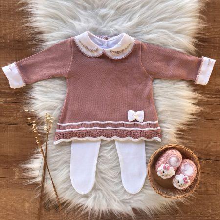 Vestido e Calça Bebe 18
